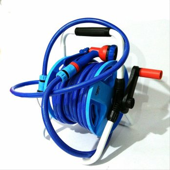 Air Hose Reel Cmart & Selang 15 Meter & Semprotan Air