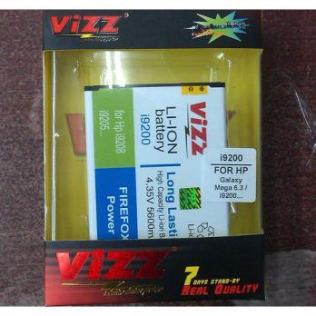 Baterai Double Power Vizz Samsung Galaxy Mega 6.3 / i9200