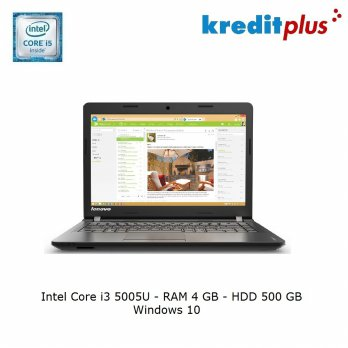 LENOVO IdeaPad 100-14-5005U-4GB Black