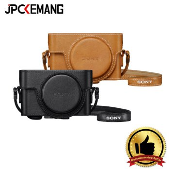 Sony Leather Case LCJ-RXK Jacket Case Half Case for RX100 Series