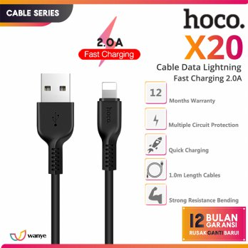 HOCO Cable X20 Lightning 1m