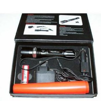 Senter Swat Police Bai Chuan 8460-1 Flashlight