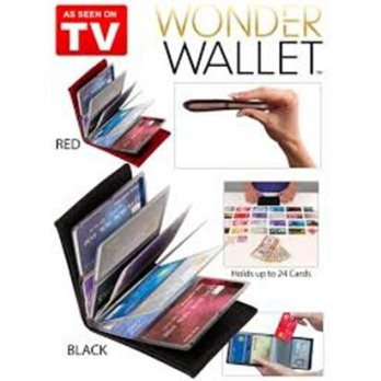 Wonder Wallet / Dompet Kartu Atm Kartu Nama is 24 kulit jeruk
