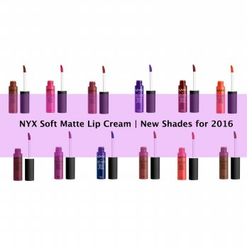 NYX Soft Matte Lip Cream New 2016