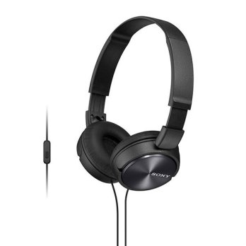 Sony Monitoring Headphones MDR ZX310 AP - Black Kabel