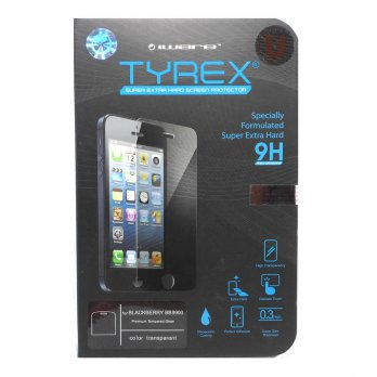 Tyrex + Garansi BlackBerry Dakota 9900 Tempered Glass Screen Protector