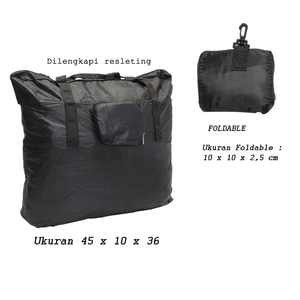 Tas Belanja Lipat Foldable Shopping Bag Tas Serba Guna Travel Bag