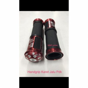 Handgrip Karet Jalu Model Pendek Monster Set Grip Hanfat