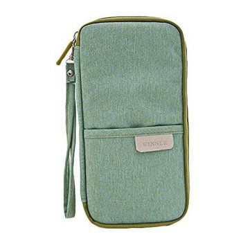 [Macyskorea] Alisagoo Passport Wallet Waterproof Travel Holder Credit Id Card Cash Purse W / 11639263