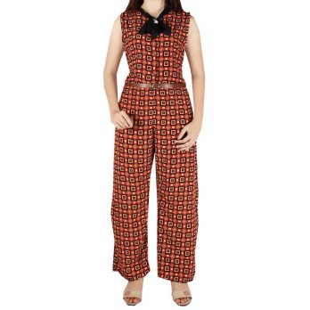 Iyesh HEMM3498 - 3498 Jumpsuit - Orange
