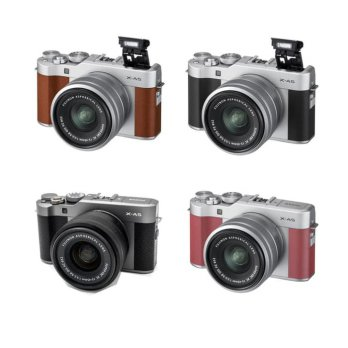 FUJIFILM X-A5 KIT 15-45MM OIS PZ - CAMERA MIRRORLESS FUJI XA5   LENSA
