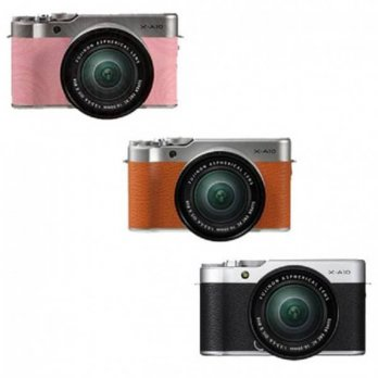 FujiFilm X-A10 Kit 16-50mm OIS II - Kamera Mirrorless Fuji Film XA10