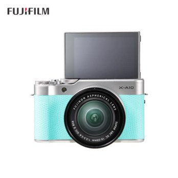 FujiFilm X-A10 Kit 16-50mm OIS II Green Mint BONUS - Fuji XA10 - XA 10