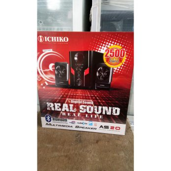 Termurah speker multimedia ichiko bluetooth AS20 Fk1605