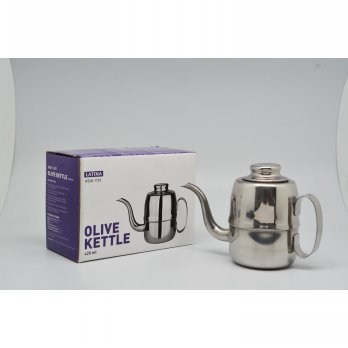 e coffee - Latina Olive Kettle 420ml