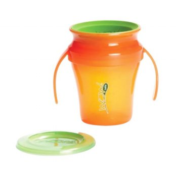 JUICY WOW Baby Cup - Translucent Orange