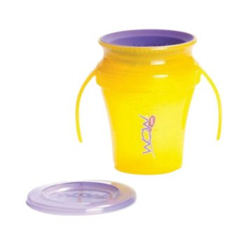 JUICY WOW Baby Cup - Translucent Yellow