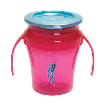 JUICY WOW Baby Cup - Translucent Pink