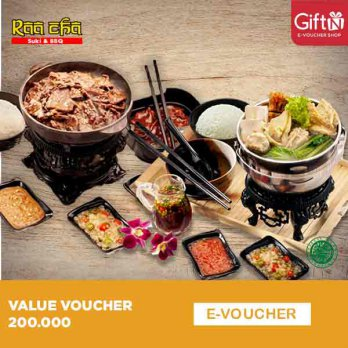 Raa Cha Value 200.000 Voucher