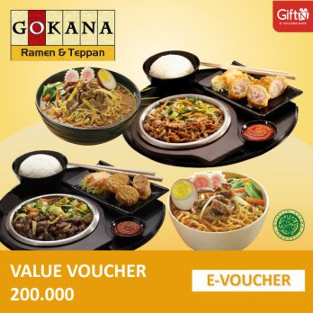 Gokana Value 200.000 Voucher
