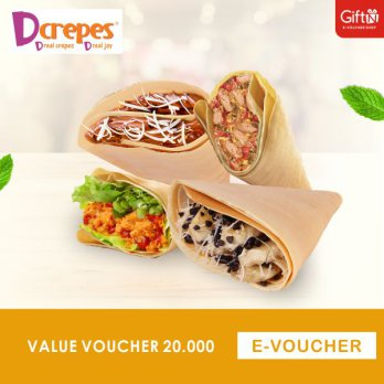 D Crepes Value 20.000 - All Menu