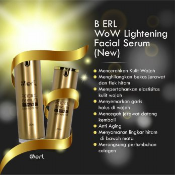 B ERL Wow Lightening Facial Serum New