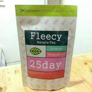 Fleecy Bangle Tea / 25 tea bag / Teh Pelangsing / Original 100%