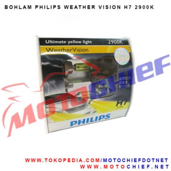 Bohlam philip H7 Wheather Vision 2900K 55W