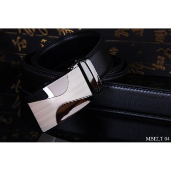Ikat Pinggang Model Rel PU Leather Hitam – MBELT 04