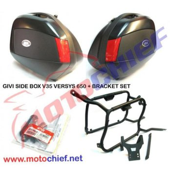 Givi Box V35 Dan Bracket Versys 650 Plus Special Kit