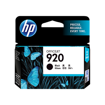 HP 920 Black Officejet Ink Cartridge [CD971AA]