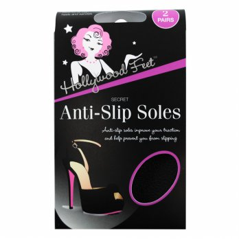 Hollywood Fashion Secrets Anti-Slip Soles-2 Pairs