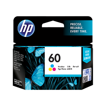 HP 60 Tri-color Ink Cartridge [CC643WA]