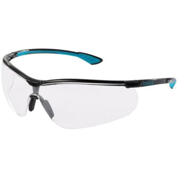 UVEX Safety Glasses Sportstyle clear lens supravision e