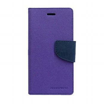 Mercury Fancy Diary Oppo Joy R1001 - Ungu/Biru laut
