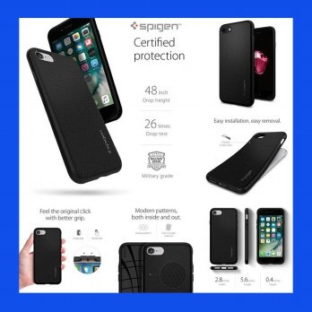 iPhone 7 Spigen Liquid Armor Case Casing Cover