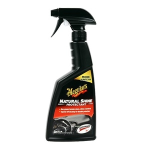 Meguiars Natural Shine Rubber amp; Plastic Polishes (G4116AM) 3062 car accessories car camera blac