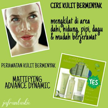 Paket Jafra Mattifying Advanced Dynamics Series