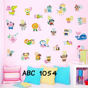 Wall Stiker Uk.60x90 Abjad Nama Binatang