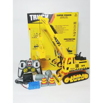 Mainan Anak RC CONSTRUCTION TRUCK CRANE 689