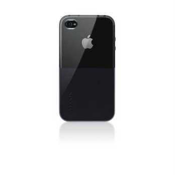 [holiczone] Belkin Shield Eclipse iPhone 4 Case, Compatible with iPhone 4S (Black)/117906