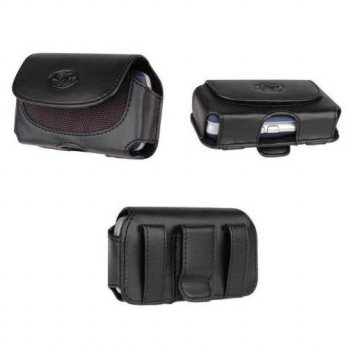 [holiczone] BuyersPath Leather Case Holster Cover Side Pouch with Belt Clip For Tmobile Sa/300089