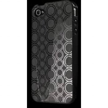 [holiczone] ISkin iSkin SoloFX Case for iPhone 4S - Retail Packaging - Black/274403