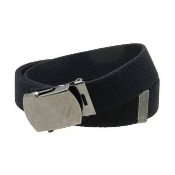 [Macyskorea] BC Belts Canvas Web Belt Military Style Antique Silver Buckle / Tip Solid Color / 11631835