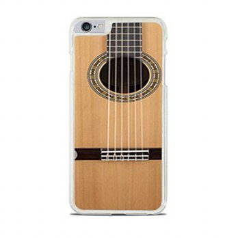 [holiczone] Elite Printing Acoustic Guitar Clear Hardshell Case for iPhone 6+ (5.5)/105713
