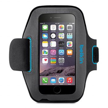 [holiczone] Belkin Sport-Fit Armband for iPhone 6 / 6S (Gravel / Topaz)/133181