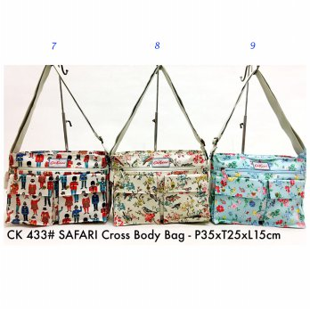 Tas Selempang Fashion Safari Crossbody Bag 433 - 7-8-9