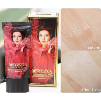 CREAM KRIM MAKE UP MAKEUP MERREZCA PERFECT BB CREAM/BB CREAM MERREZCA -#23 SOFT BEIGE BEST SELLER