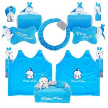 Bantal Mobil Exclusive 8 in 1 Boneka Mashimaro
