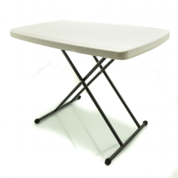 MEJA LIPAT PORTABLE ADJUSTABLE KRISBOW/ BBQ TABLE 76X50 CM